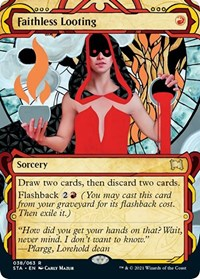 Faithless Looting, Magic: The Gathering, Strixhaven: Mystical Archives