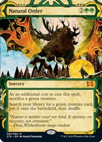 Natural Order, Magic: The Gathering, Strixhaven: Mystical Archives