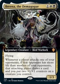 Breena, the Demagogue (Extended Art), Magic: The Gathering, Commander 2021