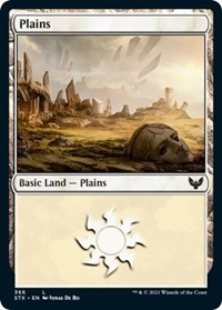 Plains (366), Magic: The Gathering, Strixhaven: School of Mages