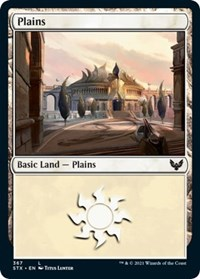 Plains (367), Magic: The Gathering, Strixhaven: School of Mages