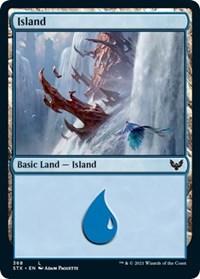 Island (368), Magic: The Gathering, Strixhaven: School of Mages