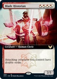 Blade Historian (Extended Art), Magic: The Gathering, Strixhaven: School of Mages