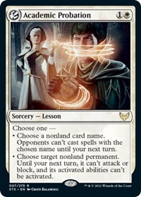 Academic Probation, Magic: The Gathering, Strixhaven: School of Mages