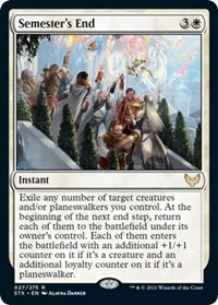 Semester's End, Magic: The Gathering, Strixhaven: School of Mages