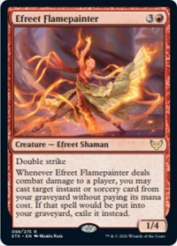 Efreet Flamepainter, Magic: The Gathering, Strixhaven: School of Mages