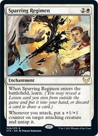 Sparring Regimen, Magic: The Gathering, Strixhaven: School of Mages