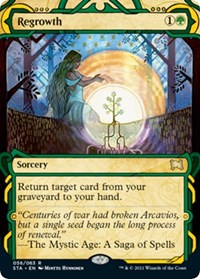 Regrowth, Magic: The Gathering, Strixhaven: Mystical Archives