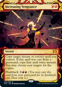 Increasing Vengeance, Magic: The Gathering, Strixhaven: Mystical Archives