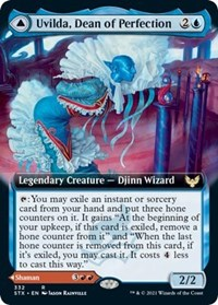 Uvilda, Dean of Perfection (Extended Art), Magic: The Gathering, Strixhaven: School of Mages