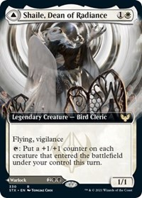 Shaile, Dean of Radiance (Extended Art), Magic: The Gathering, Strixhaven: School of Mages