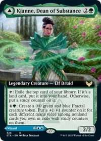 Kianne, Dean of Substance (Extended Art), Magic: The Gathering, Strixhaven: School of Mages