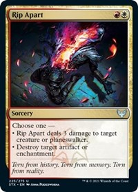 Rip Apart, Magic: The Gathering, Strixhaven: School of Mages