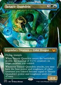 Tanazir Quandrix (Borderless), Magic: The Gathering, Strixhaven: School of Mages