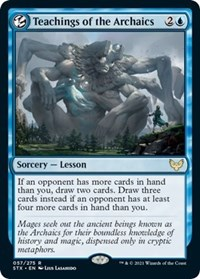 Teachings of the Archaics, Magic: The Gathering, Strixhaven: School of Mages