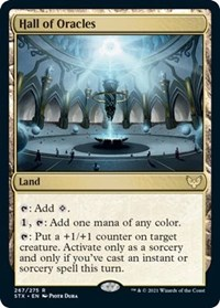 Hall of Oracles, Magic: The Gathering, Strixhaven: School of Mages