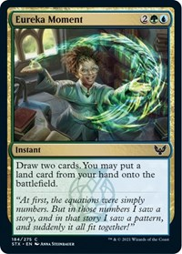 Eureka Moment, Magic: The Gathering, Strixhaven: School of Mages