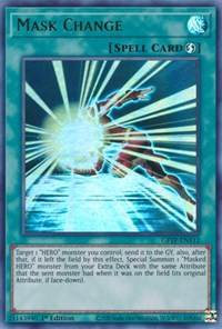 Mask Change, YuGiOh, Ghosts From the Past