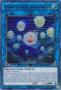 Hieratic Seal of the Heavenly Spheres, YuGiOh, Ghosts From the Past