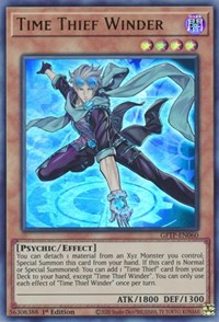 Time Thief Winder, YuGiOh, Ghosts From the Past