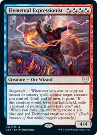 Elemental Expressionist, Magic: The Gathering, Strixhaven: School of Mages