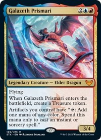 Galazeth Prismari, Magic: The Gathering, Strixhaven: School of Mages