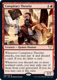 Conspiracy Theorist, Magic: The Gathering, Strixhaven: School of Mages