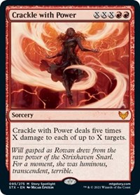 Crackle with Power, Magic: The Gathering, Strixhaven: School of Mages