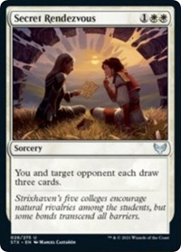 Secret Rendezvous, Magic: The Gathering, Strixhaven: School of Mages