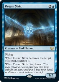 Dream Strix, Magic: The Gathering, Strixhaven: School of Mages