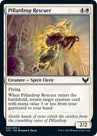 Pillardrop Rescuer, Magic: The Gathering, Strixhaven: School of Mages