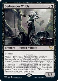Sedgemoor Witch, Magic: The Gathering, Strixhaven: School of Mages