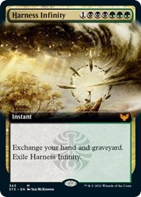 Harness Infinity (Extended Art), Magic: The Gathering, Strixhaven: School of Mages