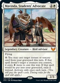 Mavinda, Students' Advocate, Magic: The Gathering, Strixhaven: School of Mages