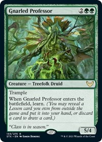 Gnarled Professor, Magic: The Gathering, Strixhaven: School of Mages