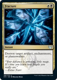 Fracture, Magic: The Gathering, Strixhaven: School of Mages