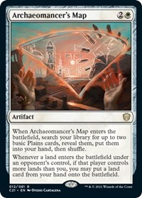 Archaeomancer's Map, Magic: The Gathering, Commander 2021
