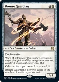 Bronze Guardian, Magic: The Gathering, Commander 2021