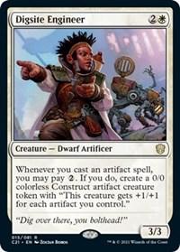 Digsite Engineer, Magic: The Gathering, Commander 2021