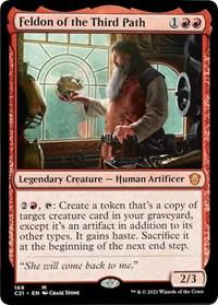 Feldon of the Third Path, Magic: The Gathering, Commander 2021