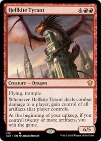 Hellkite Tyrant, Magic: The Gathering, Commander 2021