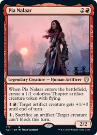 Pia Nalaar, Magic: The Gathering, Commander 2021