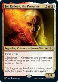 Jor Kadeen, the Prevailer, Magic: The Gathering, Commander 2021