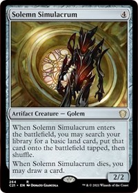 Solemn Simulacrum, Magic: The Gathering, Commander 2021