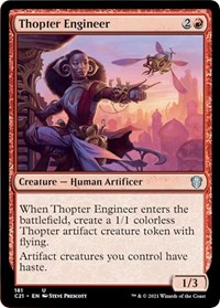 Thopter Engineer, Magic: The Gathering, Commander 2021