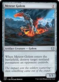 Meteor Golem, Magic: The Gathering, Commander 2021