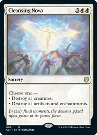 Cleansing Nova, Magic: The Gathering, Commander 2021