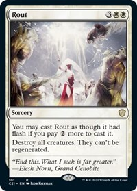 Rout, Magic: The Gathering, Commander 2021