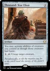 Thousand-Year Elixir, Magic: The Gathering, Commander 2021