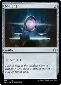 Sol Ring, Magic: The Gathering, Commander 2021